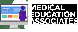 Med_Ed_Assoc_Logo_HorzPurpleDocWhiteText